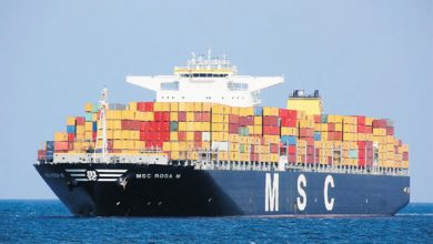 Top ten world's largest shipping companies by TEU
