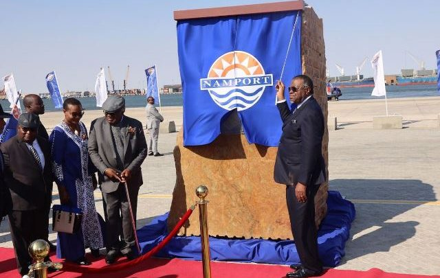 Namibia opens new port terminal at Walvis Bay