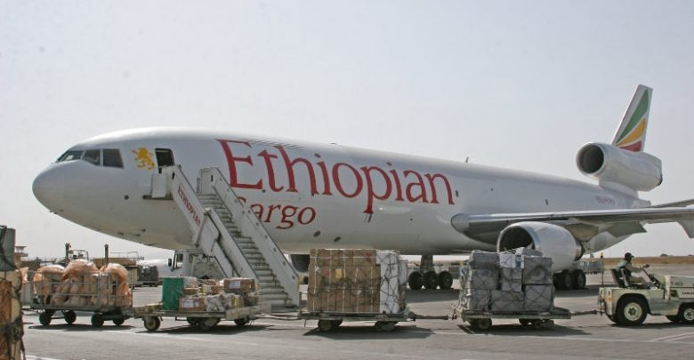 Ethiopian Cargo deploys massive cargo capacity to help fight COVID-19