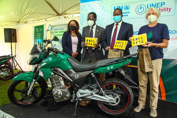 UNEP boosts electric transport in East Africa